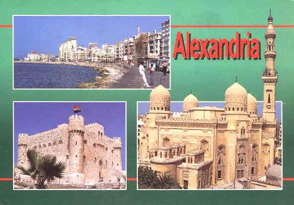 Cartolina Alexandria