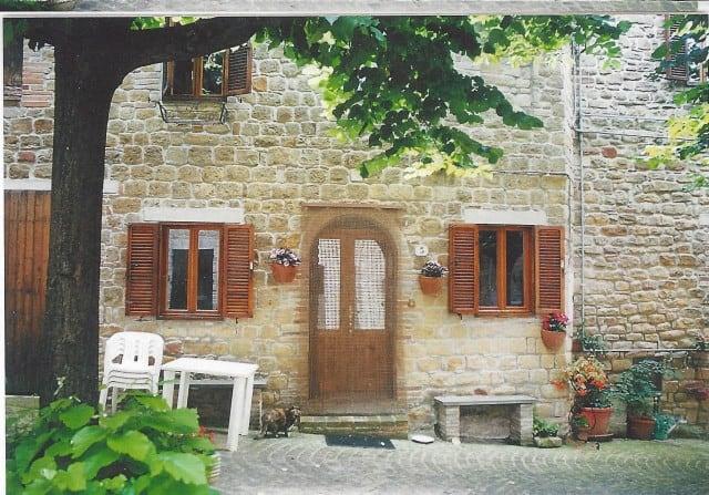 Casa di Rose Marie a Gualdo.