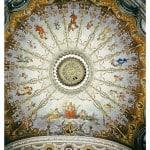 Soffitto del teatro Vaccaj di Tolentino  (foto di Franco Mosconi)