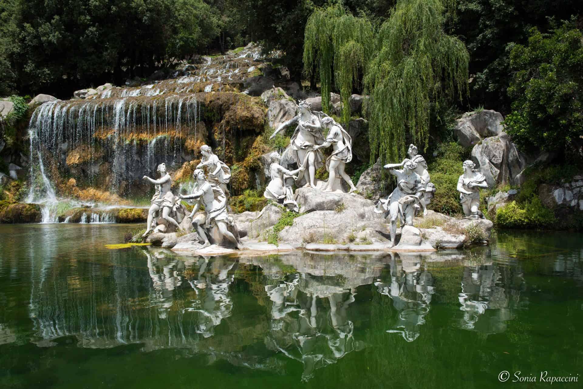 Giardini alla reggia di Caserta